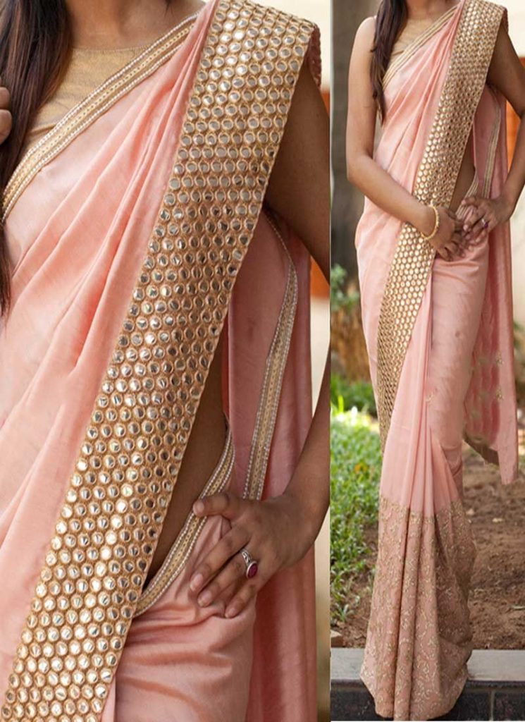 beautiful banarasi heavy work saree online
